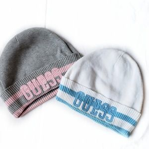 guess • 2 beanie hats